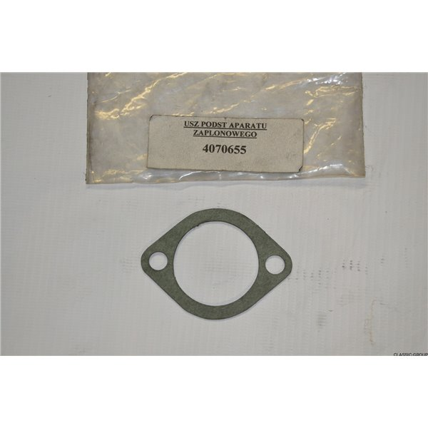 Gasket of the base of the Polonez ignition apparatus