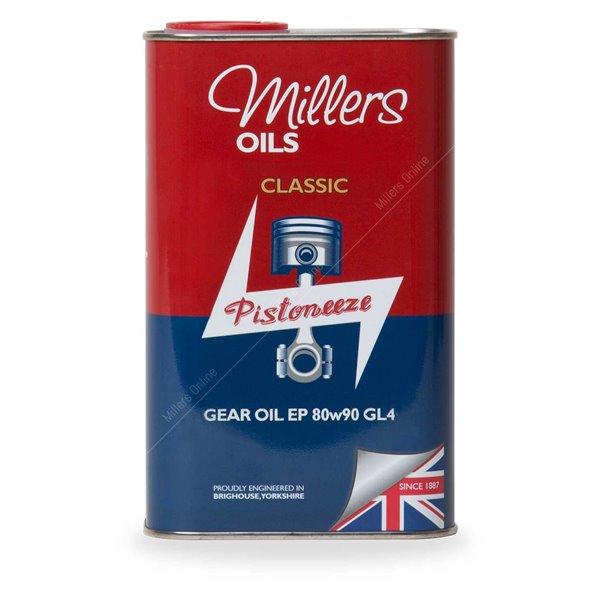 Gear Oil Millers Oils Classic Gear 80w90