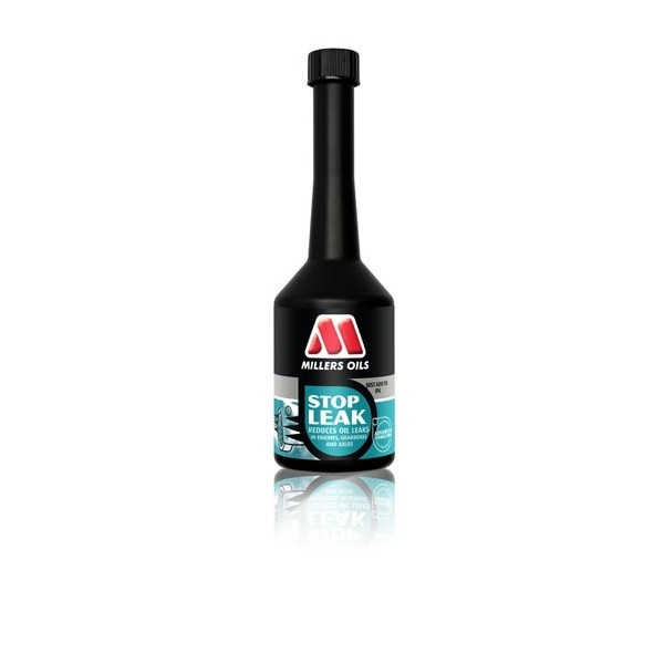 The addition of Millers Stop Leak Reduces Leaks 250ml