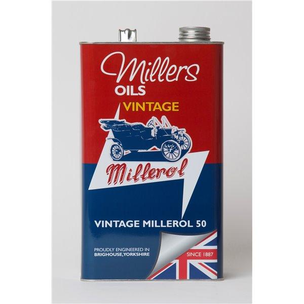 Motor oil Millers Vintage Millerol 50 5L