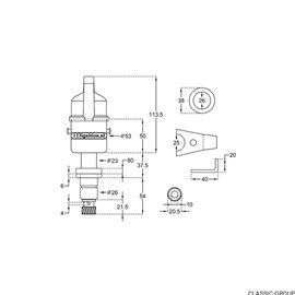 Ignition apparatus 123 Fiat 2R 500 126