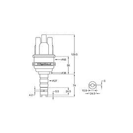 Ignition camera 123 Mercedes 4RV W110 W115 W123