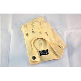 Fingerless gloves chamois leather 23