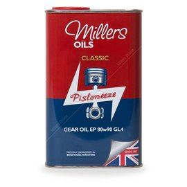 Gear oil Millers Oils Classic Gear 80w90 GL4 1L