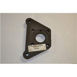 Plate for mounting the brake disc rear Polonez