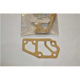 Oil filter base gasket