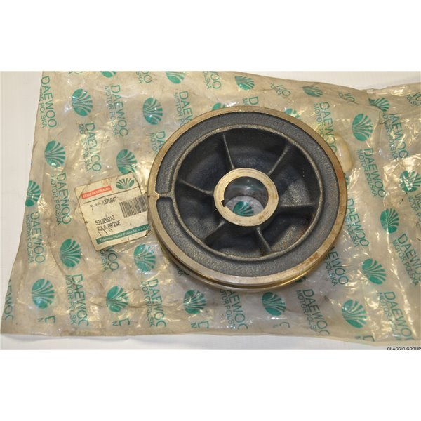 Polonez shaft pulley