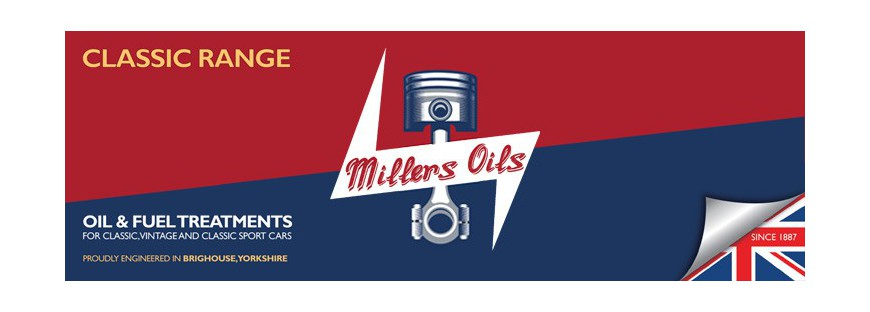 Millers oils - classic series